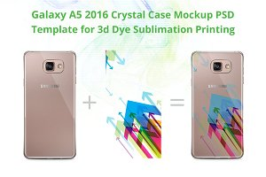 Galaxy A5 2016 3d Crystal Case