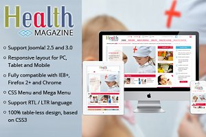 SJ Health -Medical magazine template