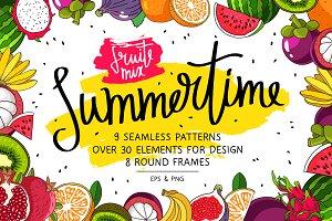 Summertime. Fruit Mix