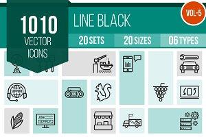 1010 Line Icons