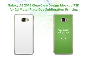 Galaxy A5 2016 2d ClearCase Mock-up