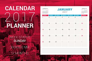 Calendar Planner 2017