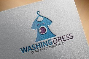 Washing Dress Logo