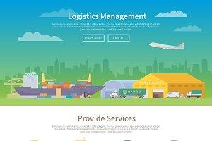 Logistics template