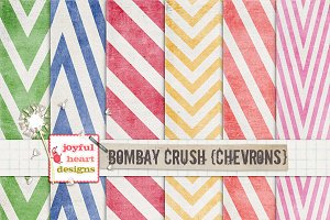 Bombay Crush {chevrons}