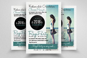Women Freedom Flyer Template