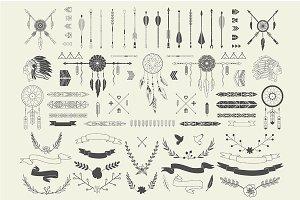 Aztec embellishments