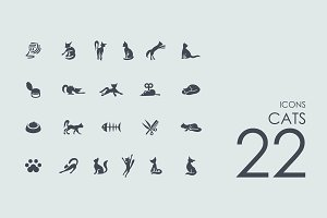 22 Cats icons