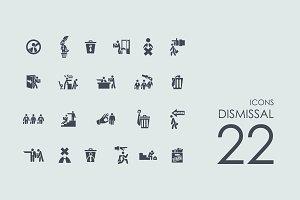 22 Dismissal icons