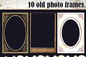 10 Old Photo Frames