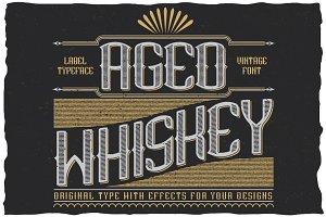 AgedWhiskey Typeface