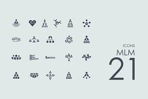 21 MLM icons