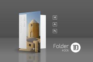 Presentation Folder Template 006