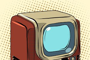 Retro TV home appliances