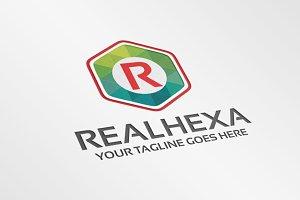 RealHexa / Letter R – Logo Template