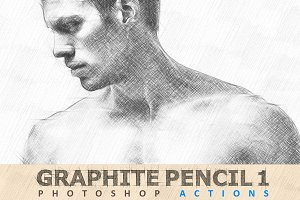 Graphite Pencil 01 Photoshop Actions