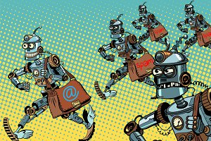 Robot mailman e-mail campaigns