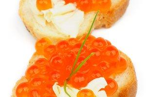 Red Caviar Snacks