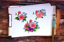 № 92 Flower vector illustration