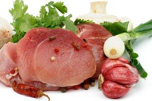 Boneless Raw Pork