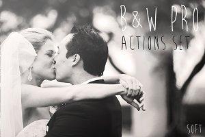 B&W PRO Actions Set