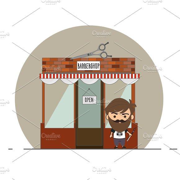 Barbershop and Chibi master