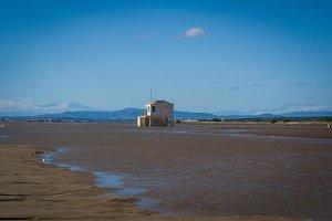 Single House at the beach