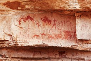 Rock paintings of Tassili N'Ajjer