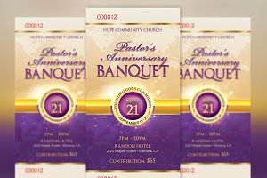 Clergy Anniversary Banquet Ticket