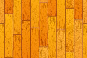 Bright wooden boards