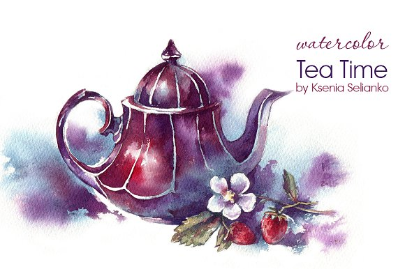 Tea Time in Illustrations