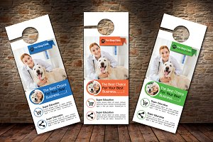 Pet Clinic Door Hanger