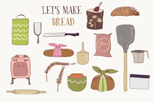 Bread and baking clip art