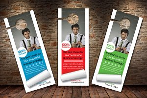 Business Marketer Door Hanger