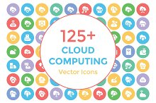 125+ Cloud Computing Vector Icons
