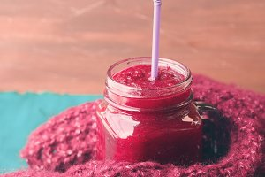 Green beetroot smoothie