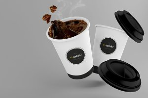 Coffee Cup - PSD Mockup