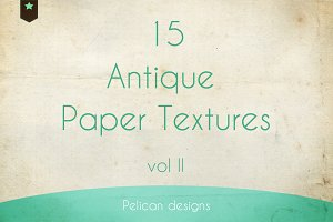 Antique paper textures pack