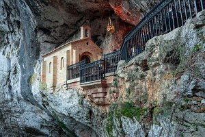 Holy cave of Covadonga IV