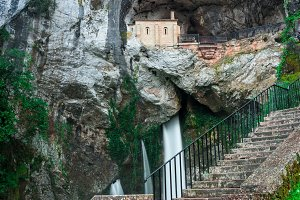 Holy cave of Covadonga III