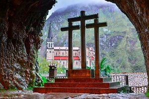 From the Holy cave of Covadonga II