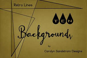 Retro Lines Backgrounds