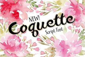 Coquette Script Font