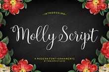 elegant script font