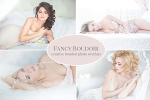 """Fancy Boudoir"" photo overlays"