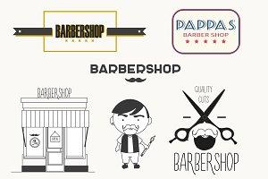 Logo barbershop