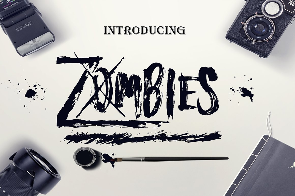 Zombies Font ~ Display Fonts ~ Creative Market