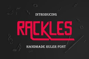 Rackless Font