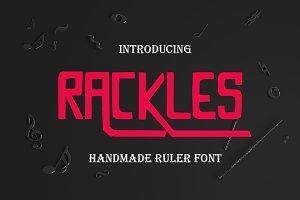 Rackless Font