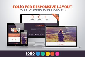 Folio | PSD Multipurpose Website